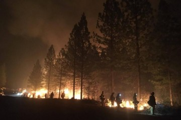 New evacuation orders issued in western Canada as fire guts town after record heat