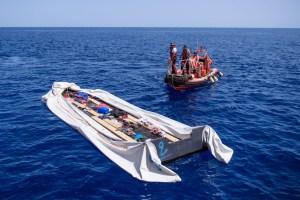 SOS Mediterranee search and rescue operation aboard the Aquarius vessel