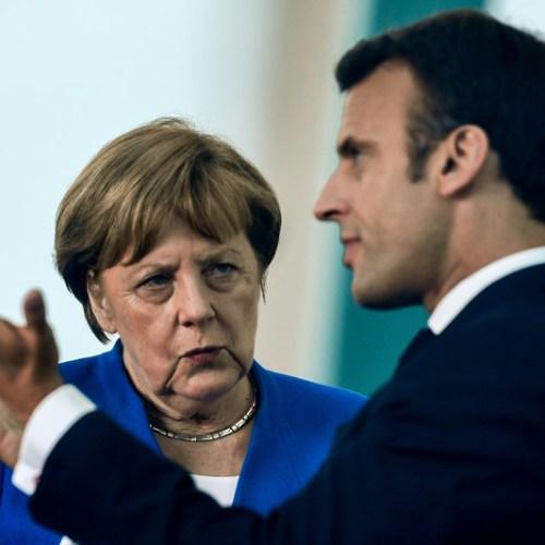 Macron ready to back Merkel for new European Commission President post