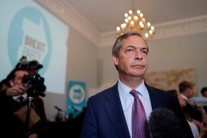 Brexit Party host press conference in Central London