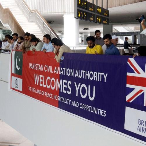 Photo Story: British Airways resumes flights to Pakistan