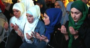 27th night of Ramadan in Sarajevo