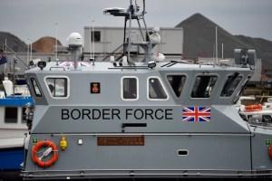 UK Border Patrol in Dover