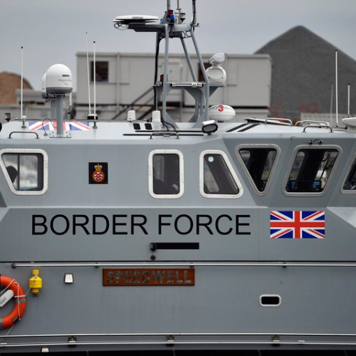 UK intercepts 74 persons crossing English Channel