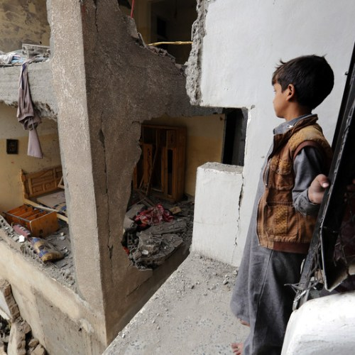Children in Yemen pay a heavy price, 7,500 killed or wounded since 2013