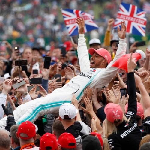 Hamilton claims record sixth British Grand Prix victory in Silverstone