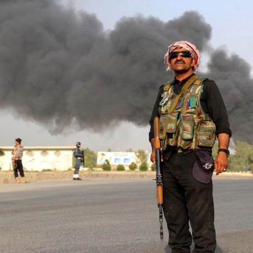 Photo Story: Suicide bomb blast killed 12 people in Kandahar