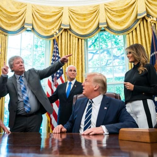 President Trump Meets Apollo 11 Astronauts