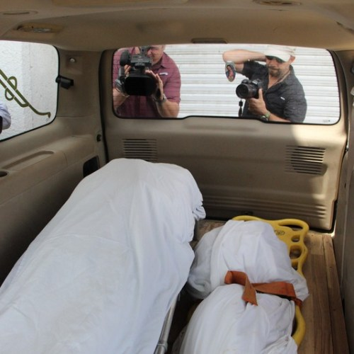 Bodies of Salvadoran father and daughter return home for burial