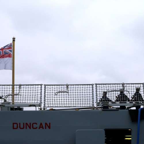 Royal Navy destroyer HMS Duncan in Ukraine for major multinational maritime exercise