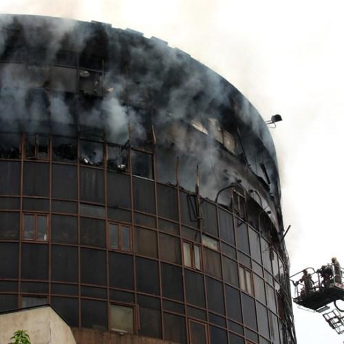 Photo Story: Fire in New Delhi