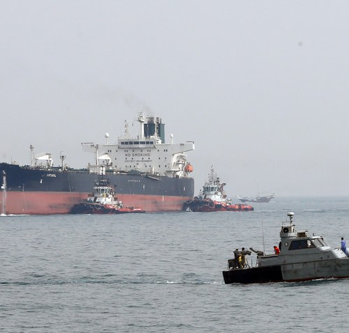 Iranian forces confirm they have seized a foreign oil tanker