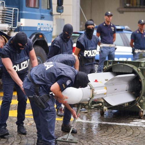 UPDATED: Missile among weapons seized during raids across Italy