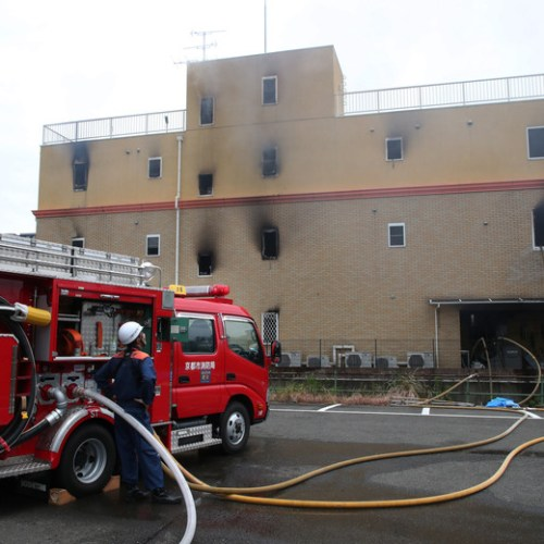 At least 24 dead in arson attack on Japanese animation studio
