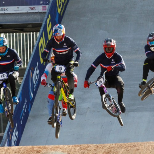 Photo Story: UEC European BMX championships Men Elite race