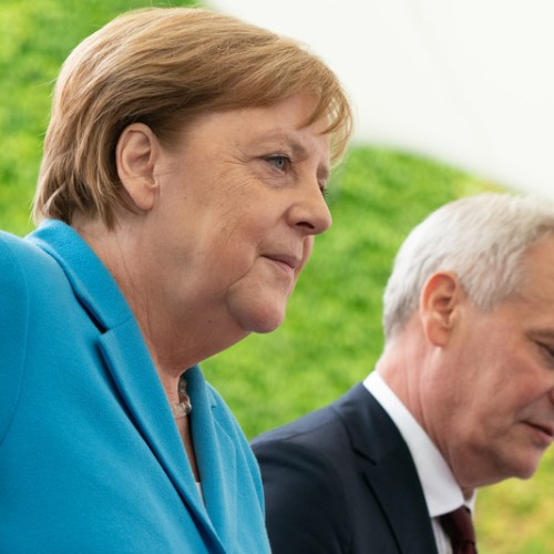 Angela Merkel suffers third shaking bout in less than a month