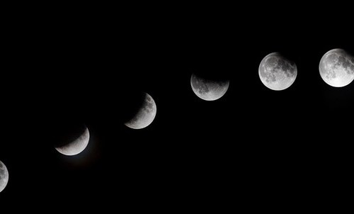Photo Story: The Partial Lunar Eclipse