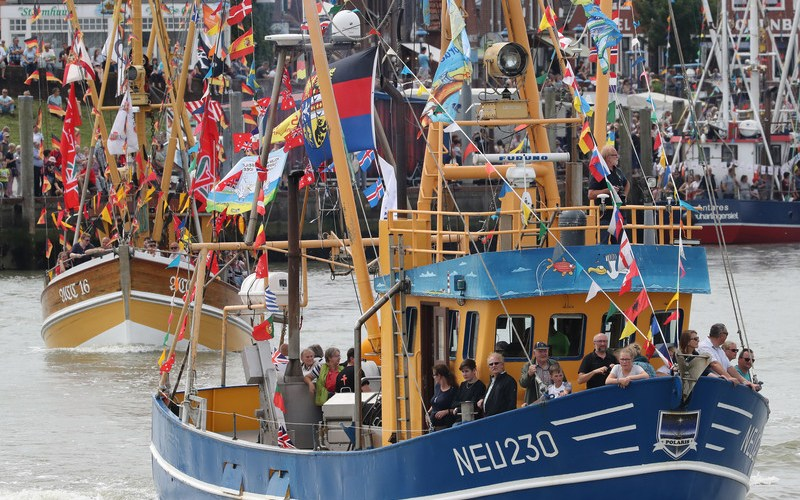 Photo Story: Shrimp cutter parade in Germany