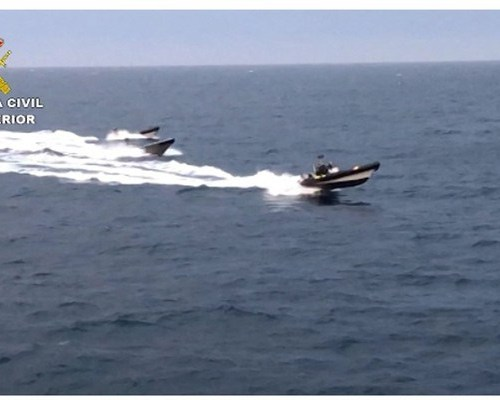 Photo Story: Spanish operation against 'Narco-Speedboats'