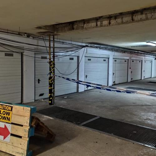 Malta: Area in car park for Forum Residencies cordoned by police over structural concerns