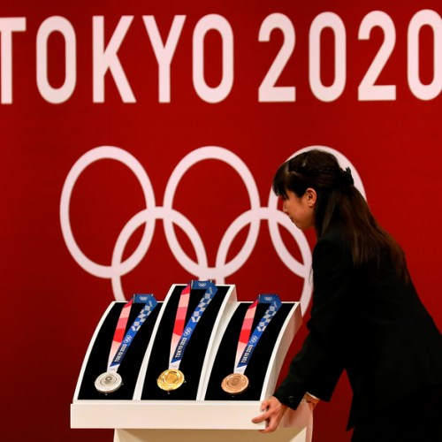 Photo Story: Presentation of the medals for the Tokyo 2020 Olympic Games