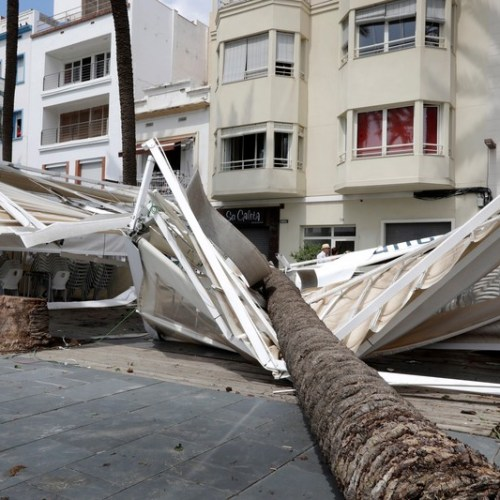 Photo Story: Barcelona region hit by bad weather