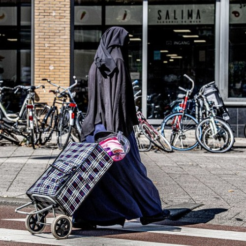 Photo Story: Facial coverings banned in the Netherlands
