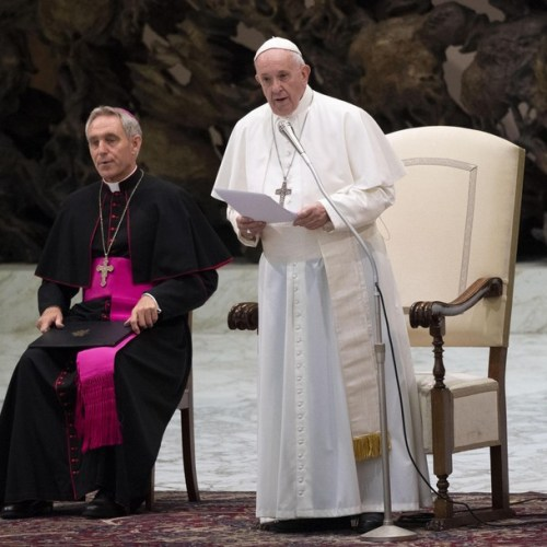 Pope Francis expresses encouragement and closeness to priests from around the world