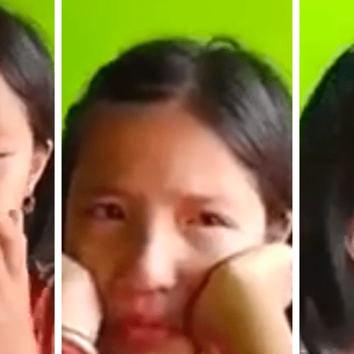 Girl, whose video of her crying for the cutting of trees went viral, made ambassador of her region Manipur