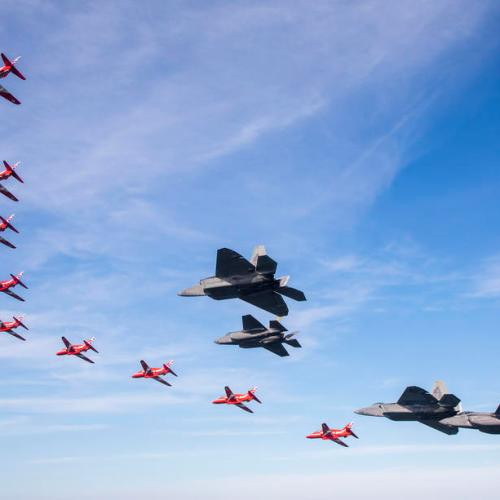 Photo Story: Red Arrows over New York