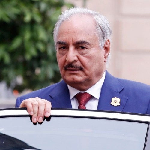 Reports that Haftar under investigation by ICC