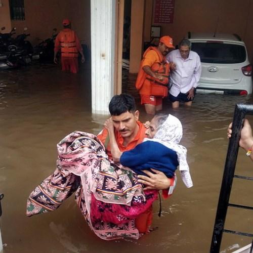 Photo Story: Floods in Maharastra, India