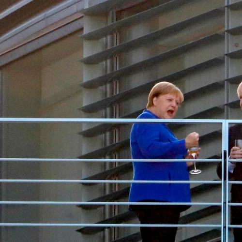 Photo Story:  After Merkel, Johnson to meet Macron