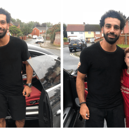 A touch of 'class' by Salah