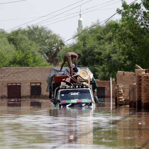 Sudan flooding leaves at least 62 dead