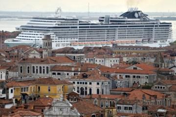 Venice dodges demotion on world heritage list after large cruise ships banned