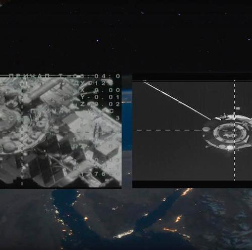 Soyuz successfully docks with the ISS