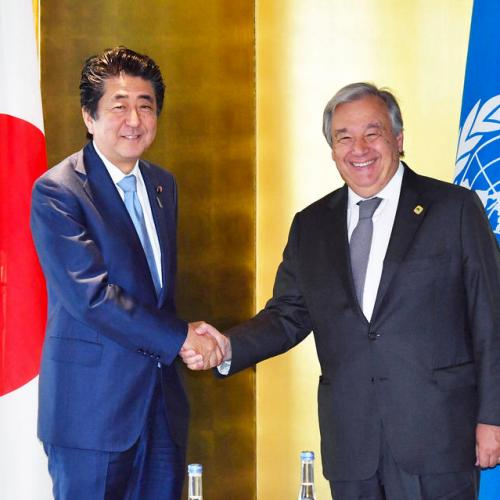 Japan commits itself to ease tension in the Middle East