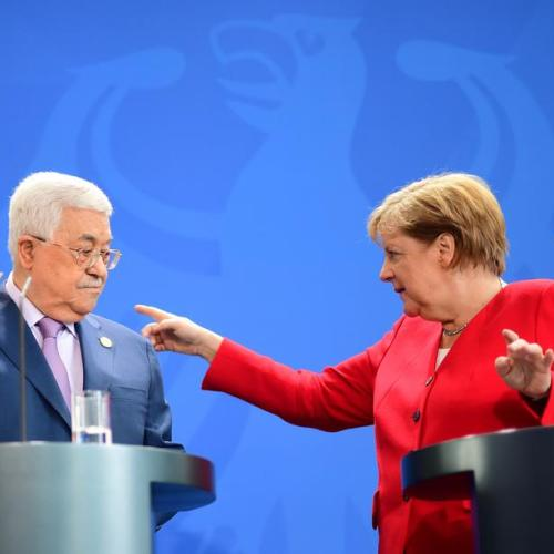 Merkel calls for two-state solution to the Israeli-Palestine conflict