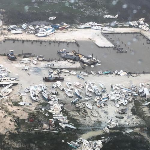 Death toll from Hurricane Dorian rises in the Bahamas