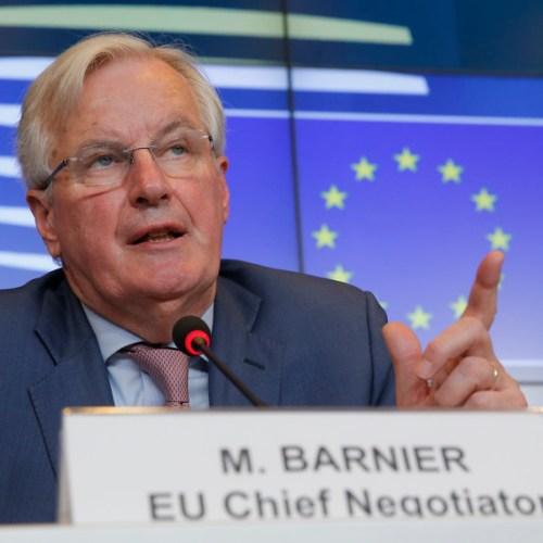 Michel Barnier 'not optimistic' about avoiding no-deal Brexit