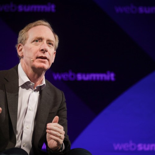 The world's reached a turning point on data and privacy, says Microsoft President Brad Smith