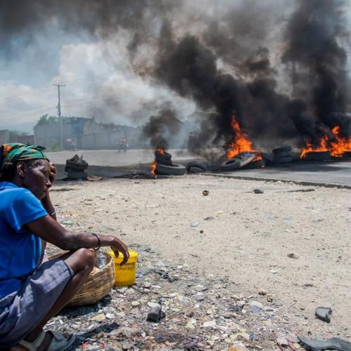 Photo Story: Haitian capital paralyzed by protests