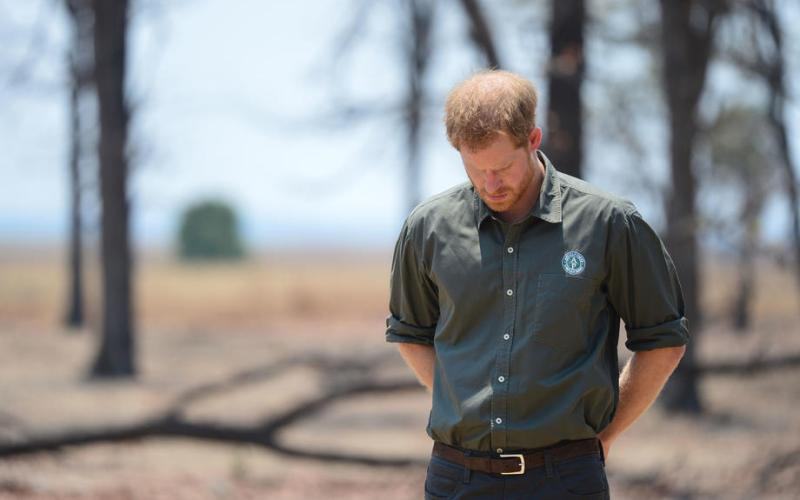 Photo Story: Prince Harry visits memorial for slain Coldstream Guard in Malawi