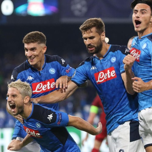 Champions League – Napoli beat holders Liverpool, Chelsea lose against Valencia while Inter held draw by Slavia Praha