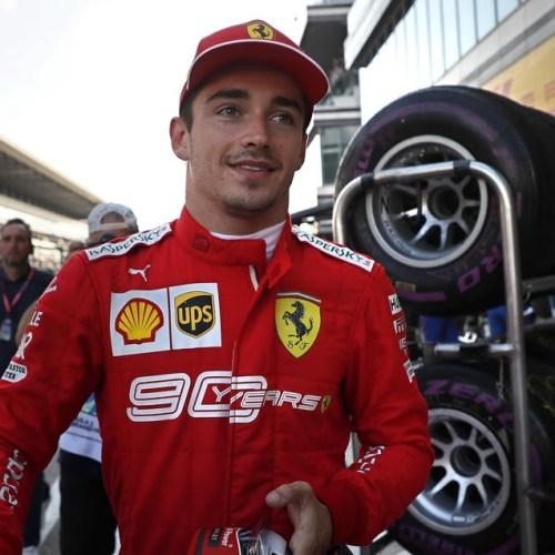 Leclerc wins fourth straight pole a first for Ferrari since Schumacher '01