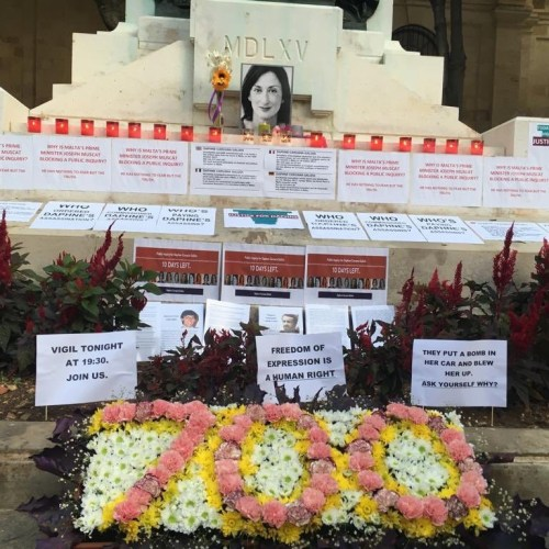 """""""When a journalist is threatened or killed, democracy is attacked"""" – Calls for truth about Daphne Caruana Galizia's murder on 700th day since her assassination"""