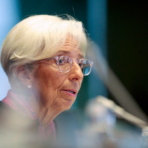 COVID-19 and German constitutional court decision top meeting with ECB's Lagarde