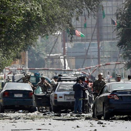 Suicide attack targets checkpoint in downtown Kabul