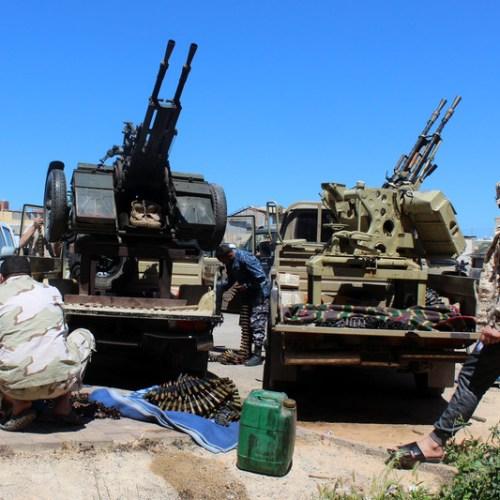 Uneasy calm descends on Tripoli frontlines